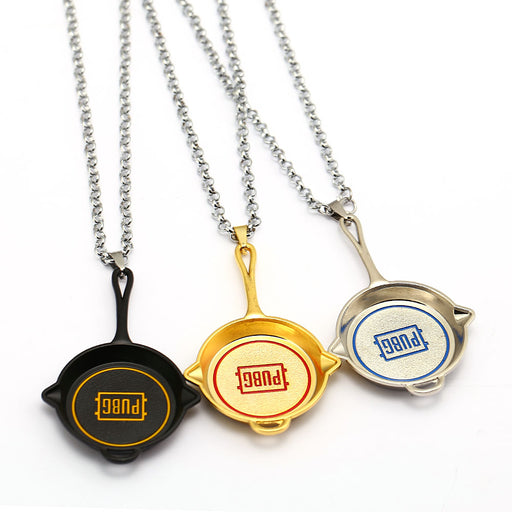 PUBG Frying Pan Necklace