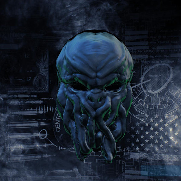 "Game ""Payday2"" CTHULHU Theme  Costume Resin Mask"