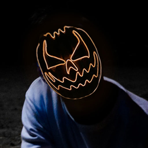 "Movie ""Halloween"" - Pumpkin LED PVC Masks"