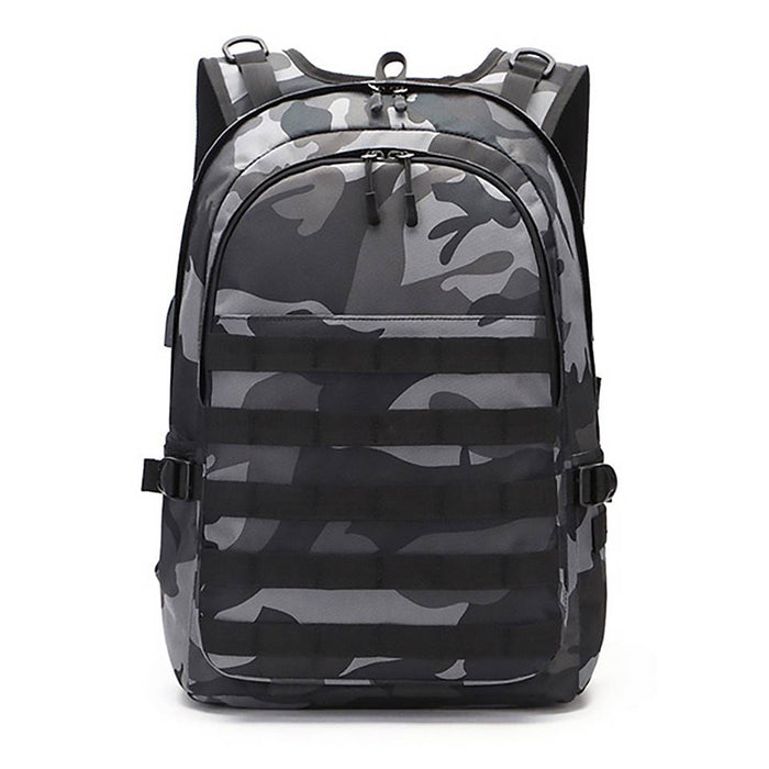 PUBG Outdoor 3 Level Backpack with USB Charging