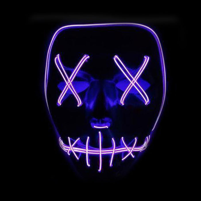 The Purge Election Year - LED Light Black Base Masks