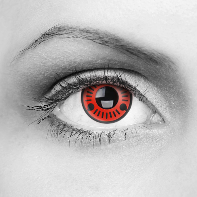 SHARINGAN - UCHIHA THREE MAGATAMA CONTACT LENSES