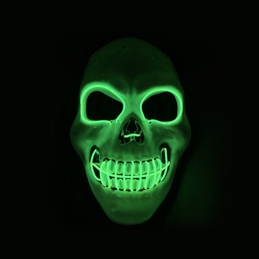 Devil - Scary Skull LED Cloak Masks