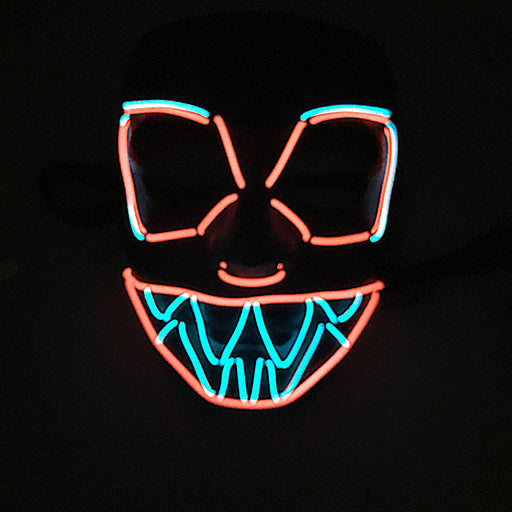 Devil - Scary Skull Multicolor LED Masks