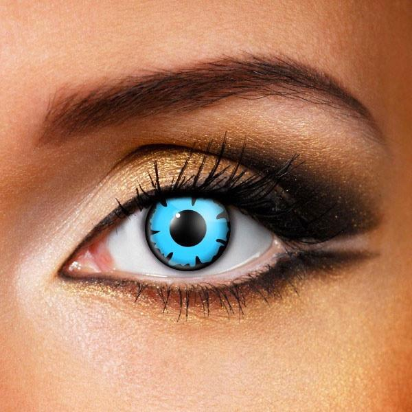Wizard Blue Crazy Contact Lenses