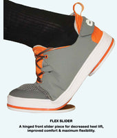 "Men's NeoSport Charcoal/Orange 1/8"" Flex Perimeter Slider (RH)"