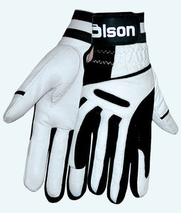 Ultrafit White Unisex Curling Gloves