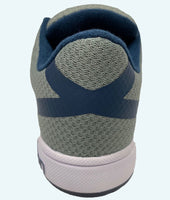 Women's CrossKicks Grey/Navy -Double Gripper
