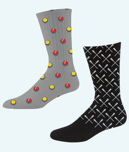 Designer Curling Socks
