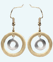 Curling House Earrings