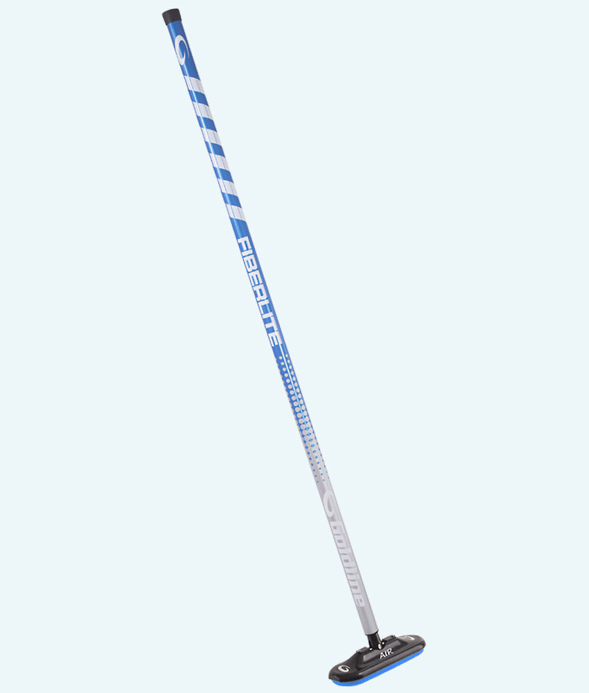 Fiberlite Air X Curling Broom - Blue Steel