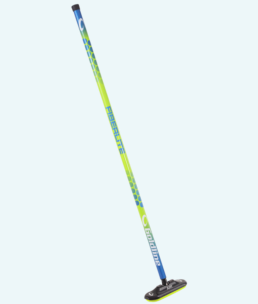 Fiberlite Air X Curling Broom - Limelight