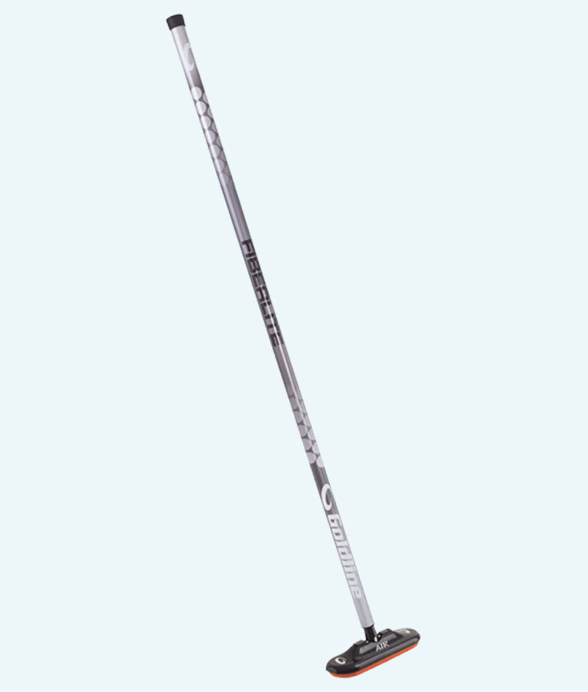 Fiberlite Air X Curling Broom - Silver Ice