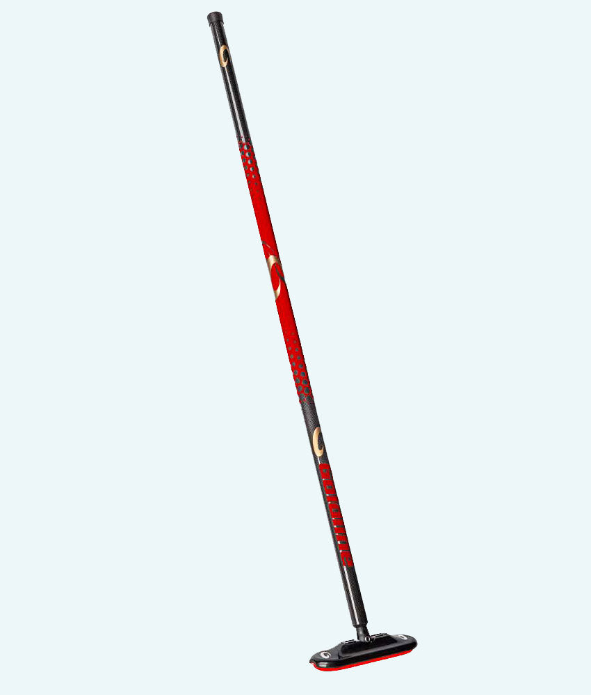 Carbon Fiber Air Broom - Red