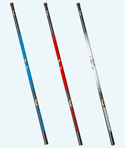 Goldline Carbon Fiber Curling Broom Handles - Blue, Red & White