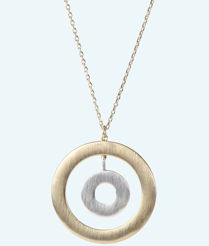 Curling House Necklace