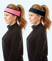 Protective Curling Headgear: Headband