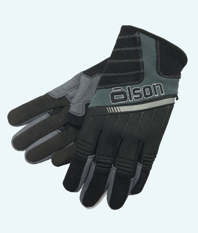Women's Unisex V-Flex Curling Gloves - Black/Charcoal