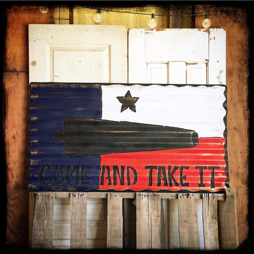 COME AND TAKE IT - Texas Flag - Large