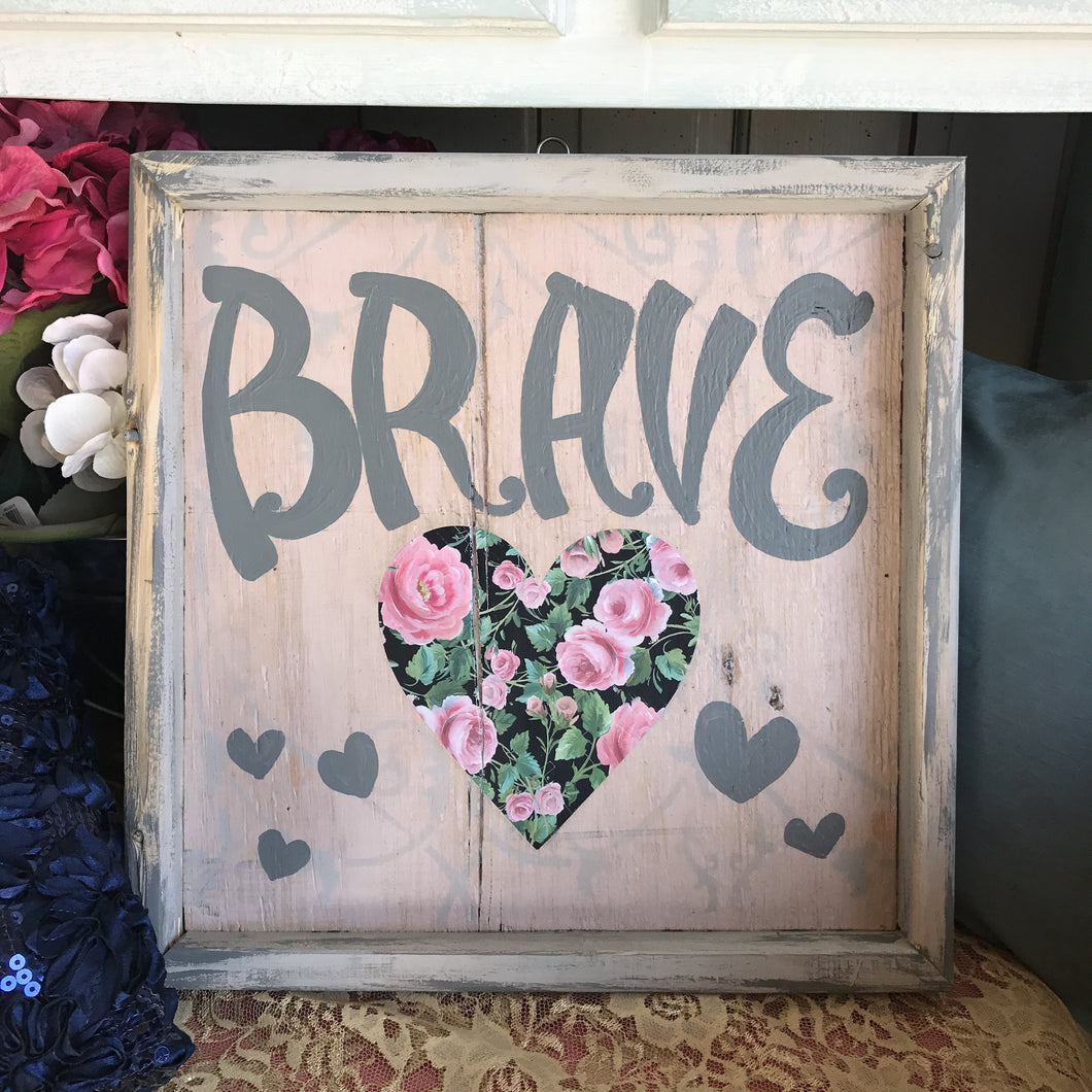 Brave - Framed Box