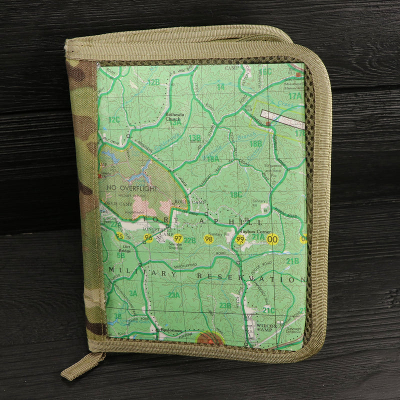 Military Rite In The Rain Notebook Holder with Map - MultiCam