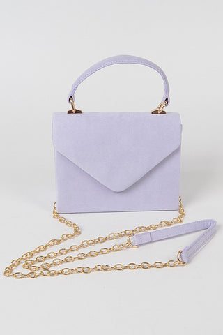 Lauryn Crossbody Bag - Lavender