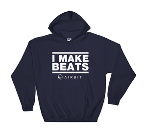 I Make Beats Style 2 Hooded Sweatshirt