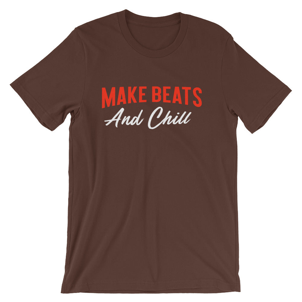 Make beats and chill - Airbit - Short-Sleeve Unisex T-Shirt