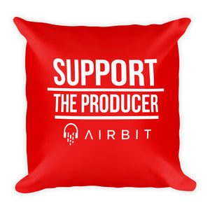 Support the producer - Square Pillow