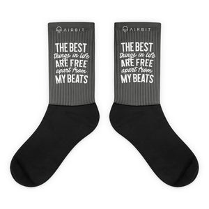 the best things in life are free - Socks
