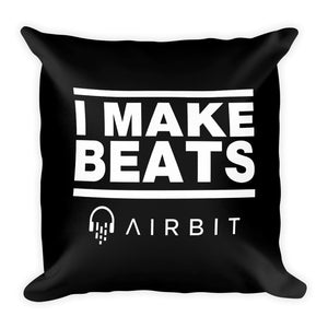I make beats - Square Pillow