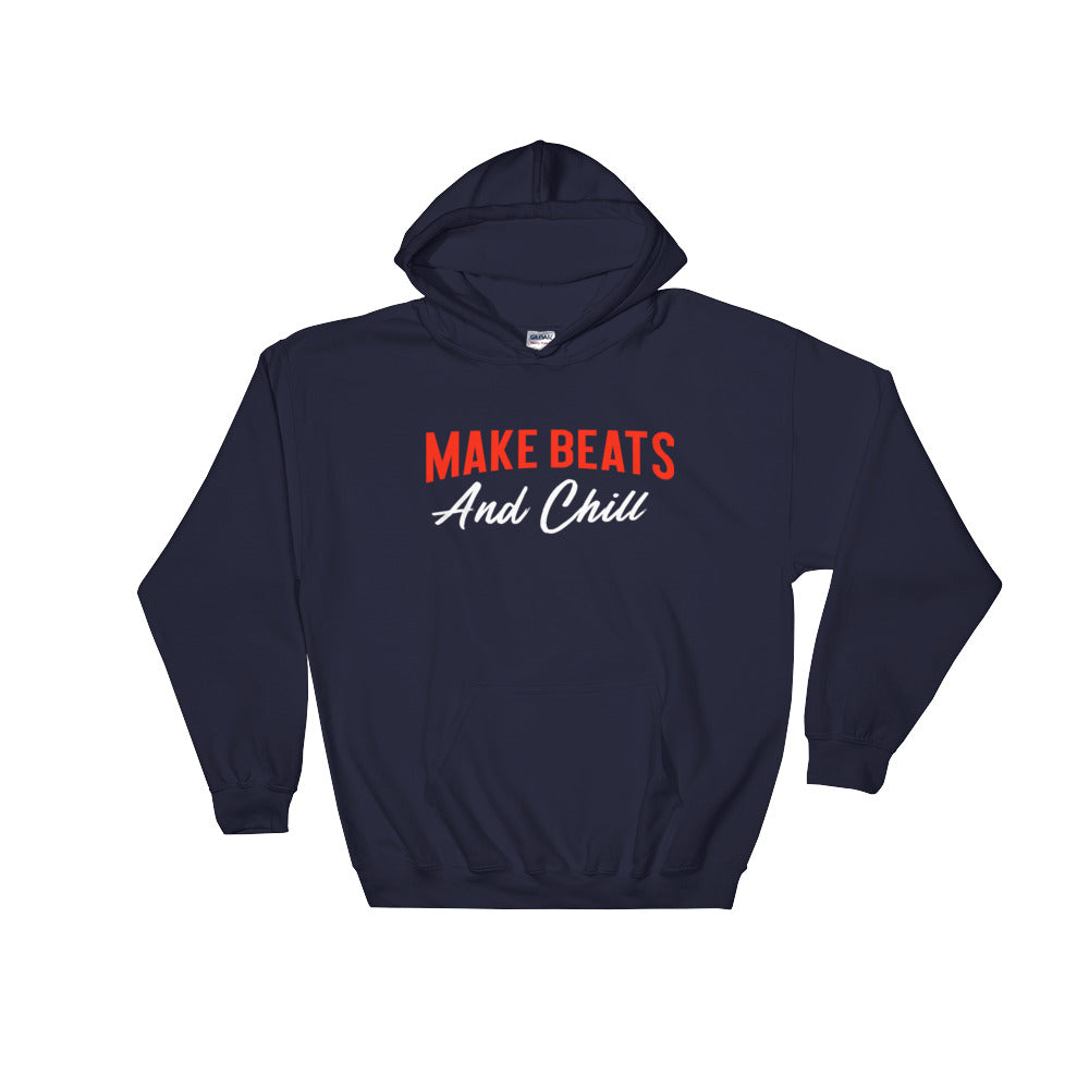 Make beats and Chill - Air bit - Hooded Sweatshirt