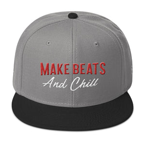 Make beats and chill - Airbit Snapback Hat