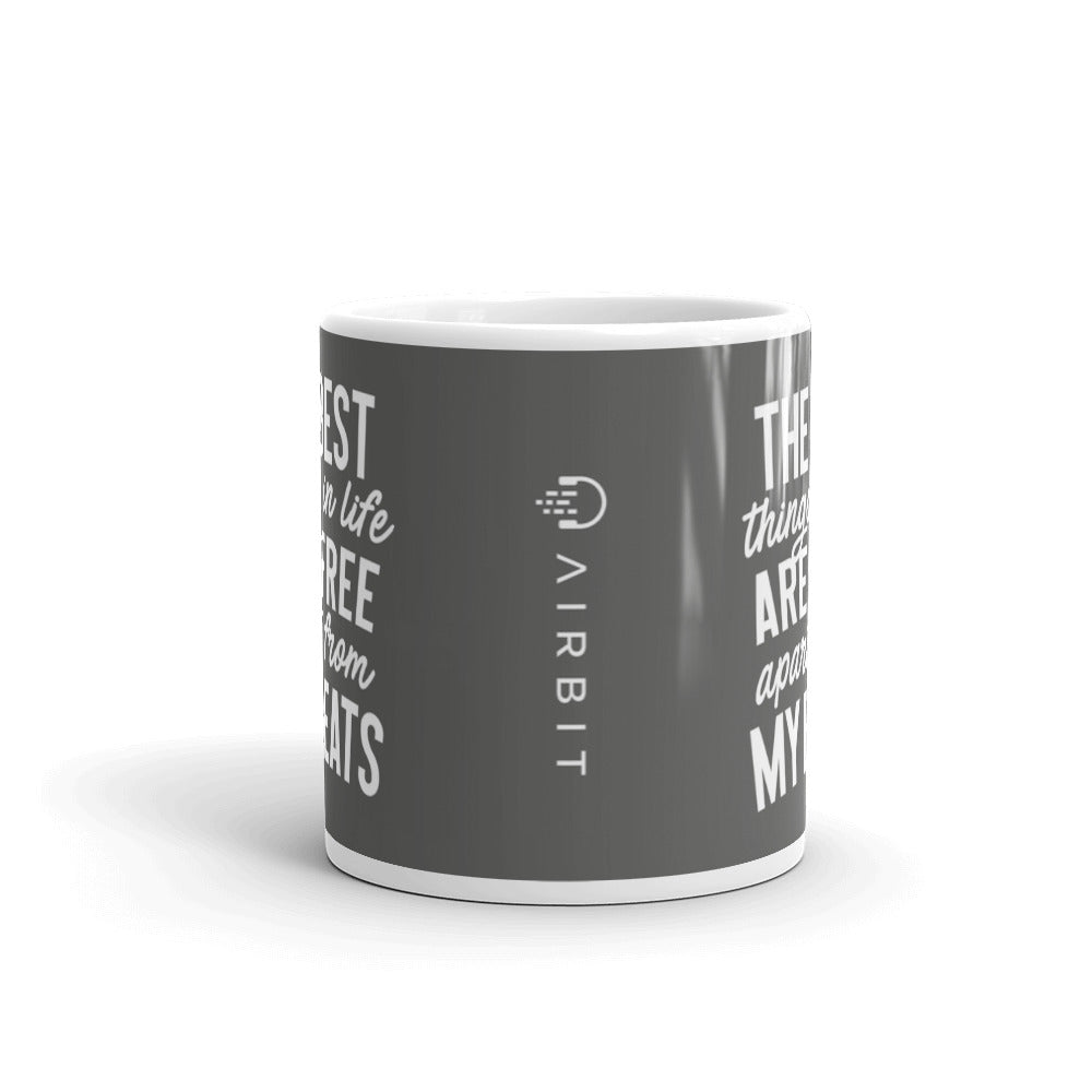 Airbit - The best things in life are free - Mug