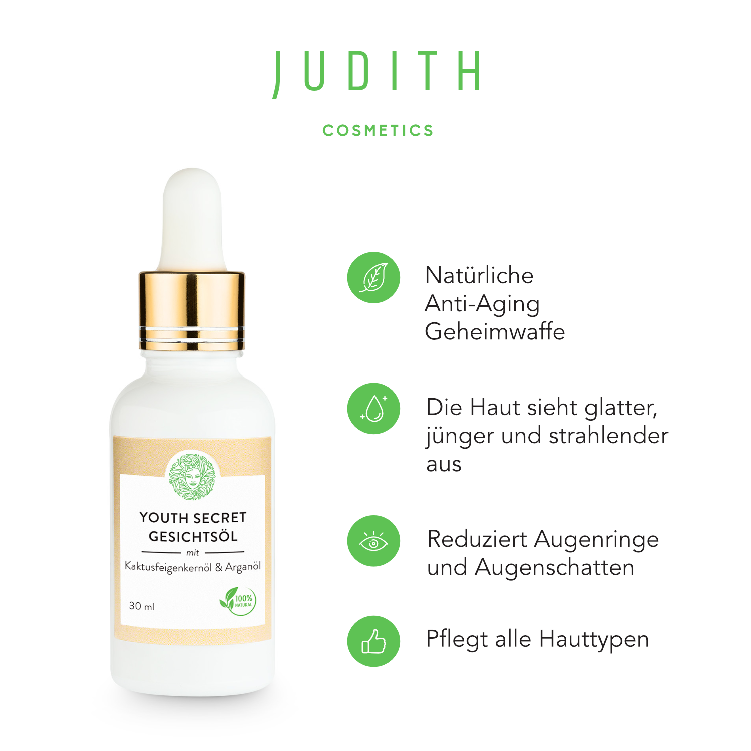 Judith Cosmetics Youth Secret Gesichtsöl