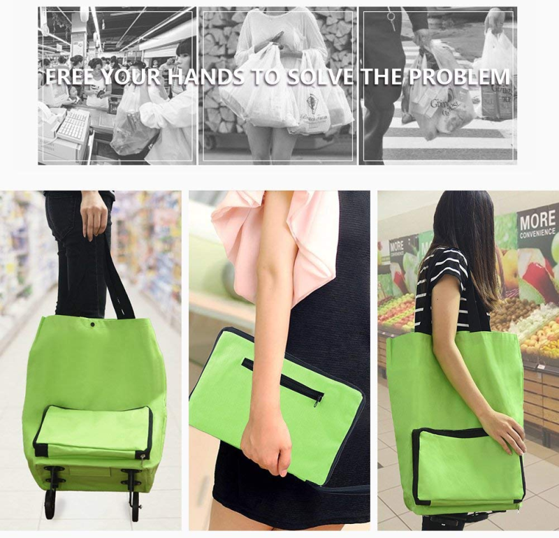 Foldable Shopping Trolley