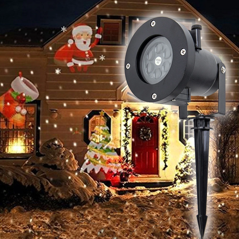 Christmas Rotating Projector