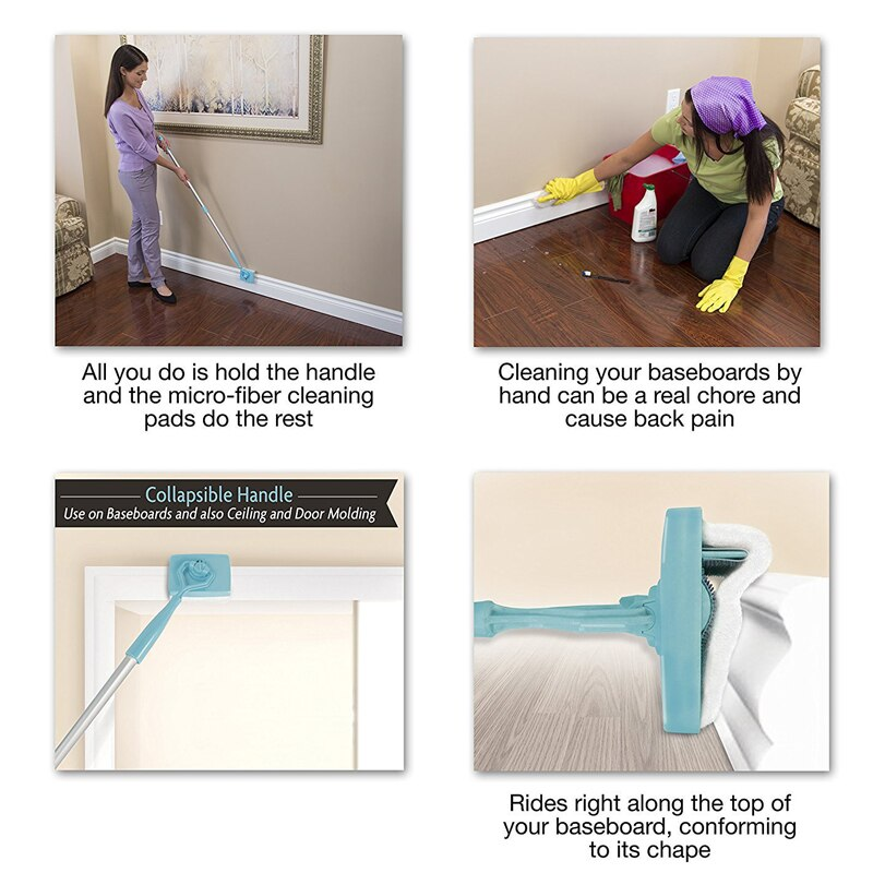 Adjustable Baseboard Cleaner