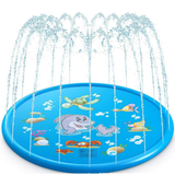 Inflatable Water Sprinkler Mat