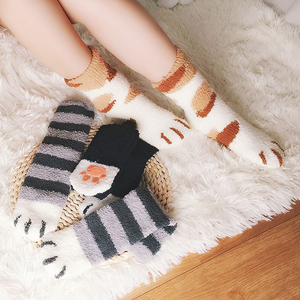 Cute Cat Thick Socks