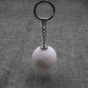 Glowing 3D Moon Keychain