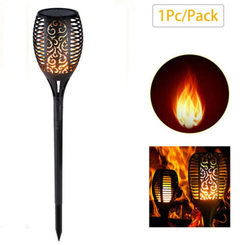 Solar Flame Lights Outdoor