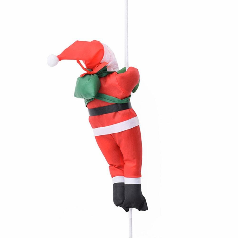 Ladder Climbing Santa Claus