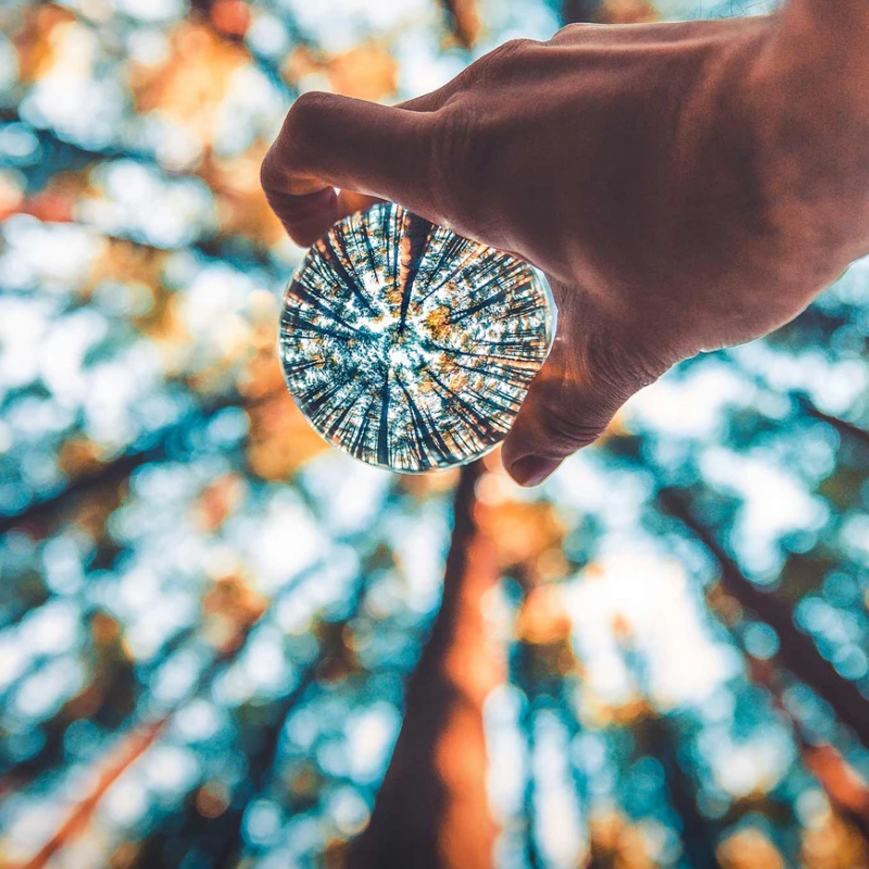 Crystal Ball Lens