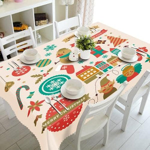 Christmas 3D TableCloth