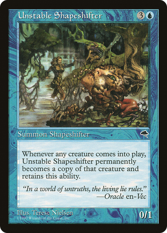 Unstable Shapeshifter