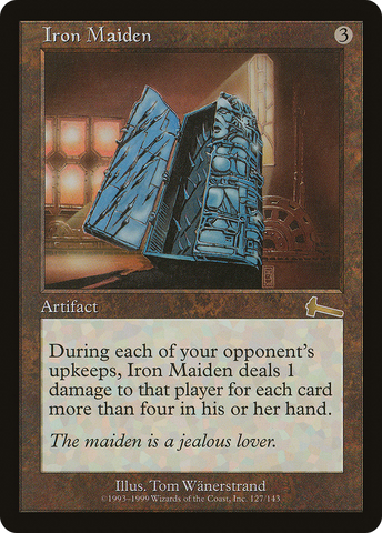 Iron Maiden (Foil) (Trade-In)