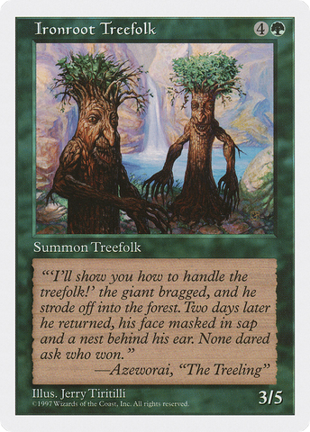 Ironroot Treefolk