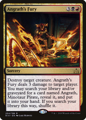 Angrath's Fury