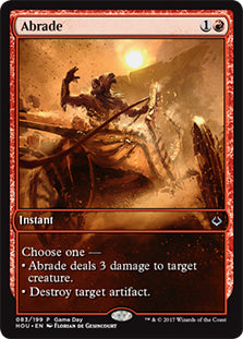 Abrade (Hour of Devastation Game Day)